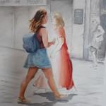 CONTRAPPOSIZIONE / CONTRAPOSITION Oil on Canvas